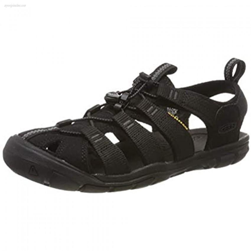 KEEN Women's Clearwater CNX Sandal Black 7.5