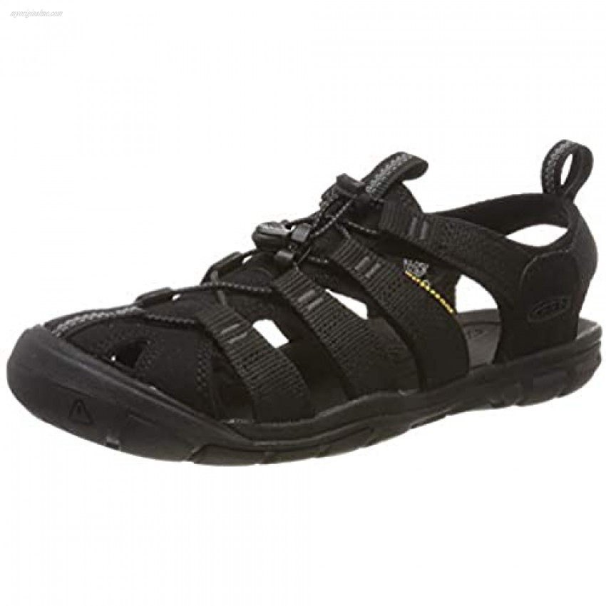 KEEN womens Clearwater Cnx Sandal Black 9.5 US