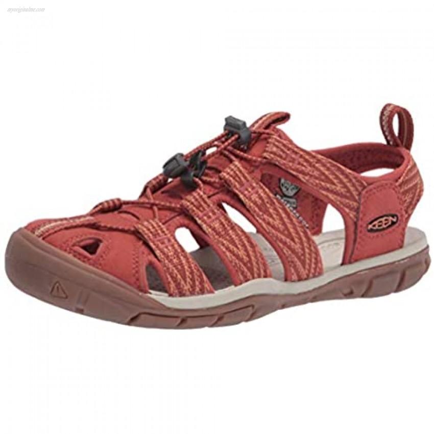KEEN Women's Clearwater CNX Sport Sandal Brick Dust/Pheasant 9