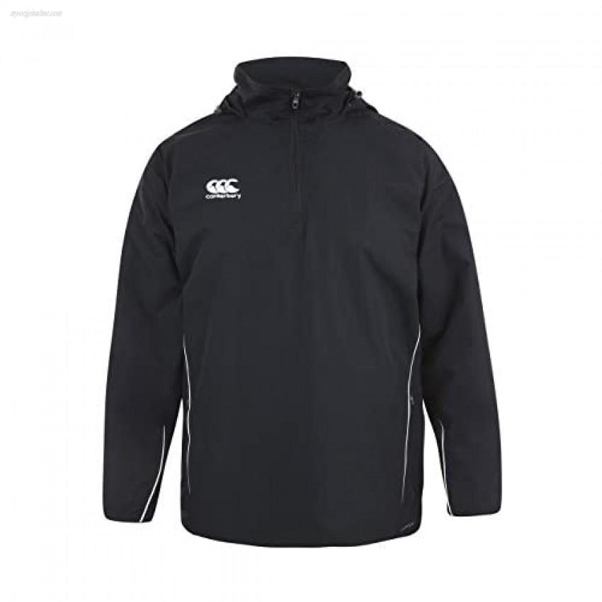 Canterbury Team Fleece Lined Jacket Senior Black/White Large