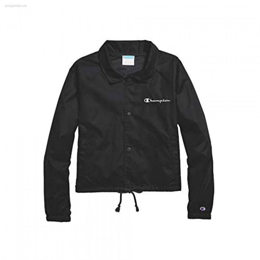 Champion Heritage Woven Coaches Jacket Black Large