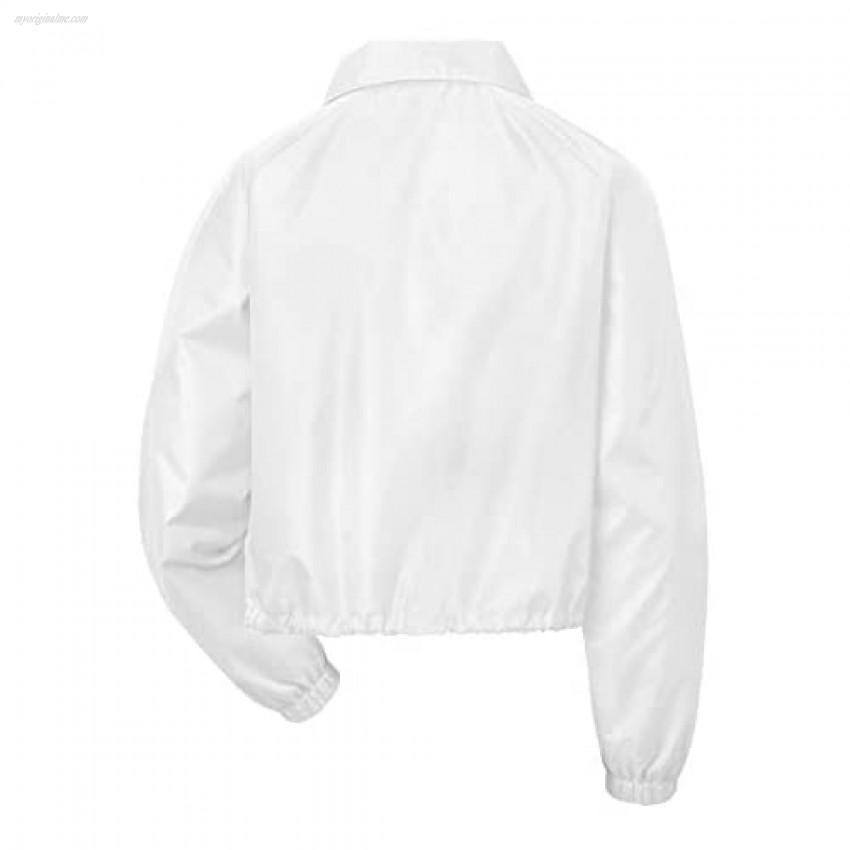 Champion Women's Heritage Coaches Jacket Script Logo Imperial Indigo XX-Large