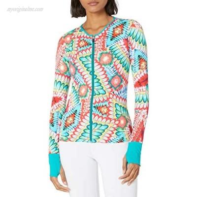 Luli Fama Women's Fitted Zip Jacket