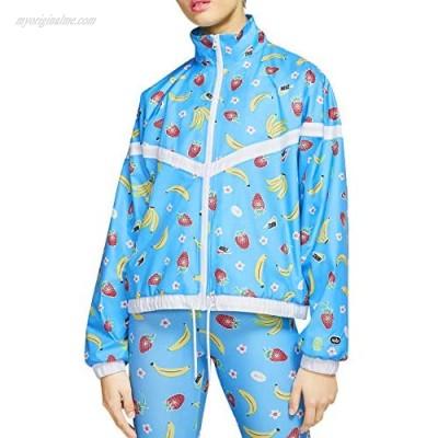 Nike Sportswear Women's Woven Printed Jacket Cj3719-487