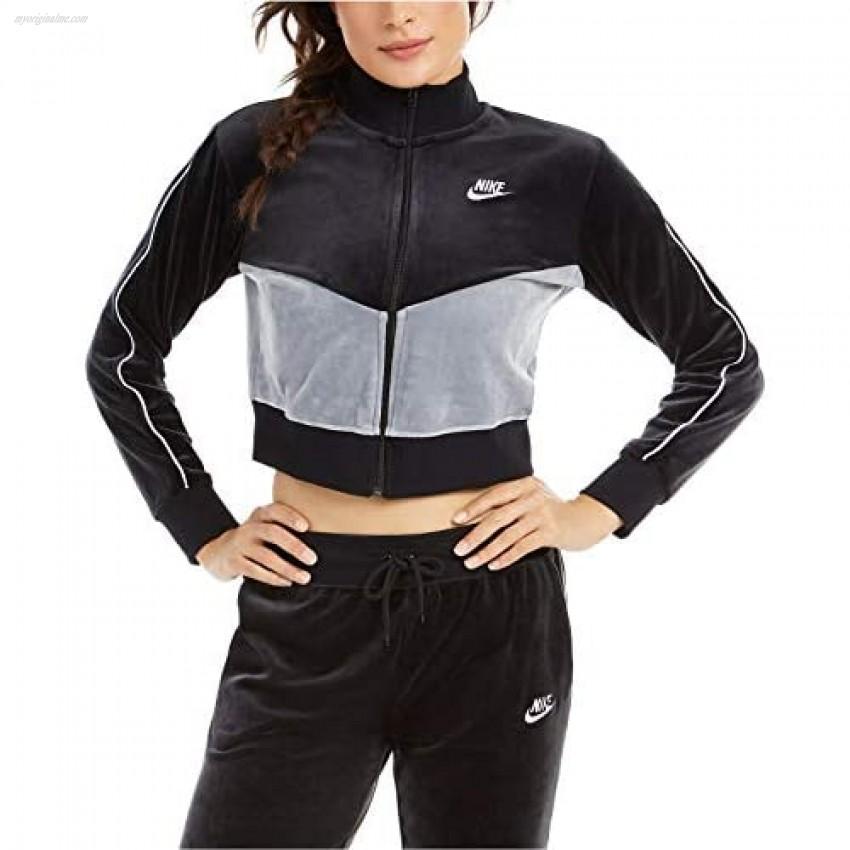 Nike Womens Fitness Velour Track Jacket