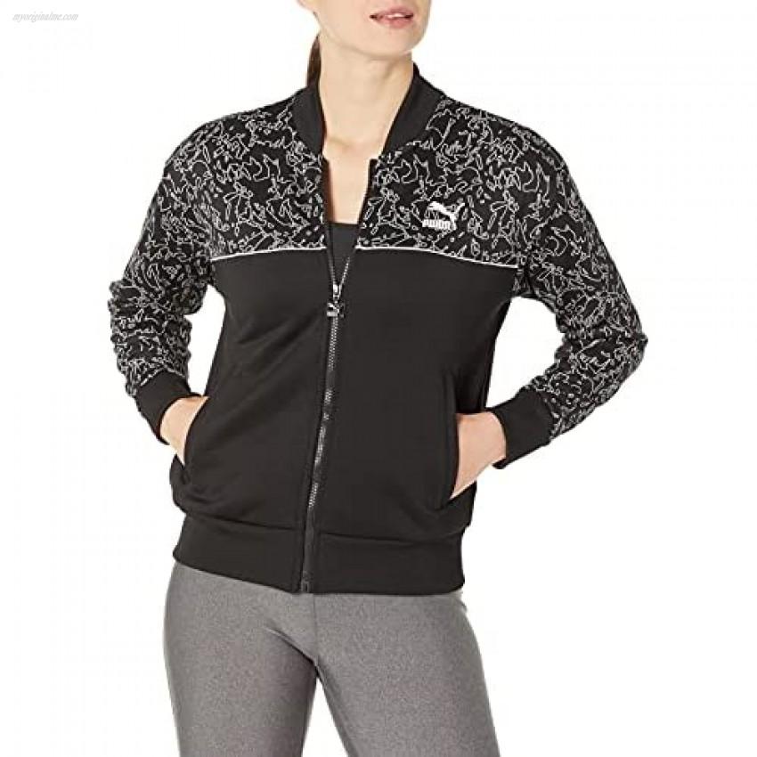 PUMA Women's Classics All Over Print Track Jacket
