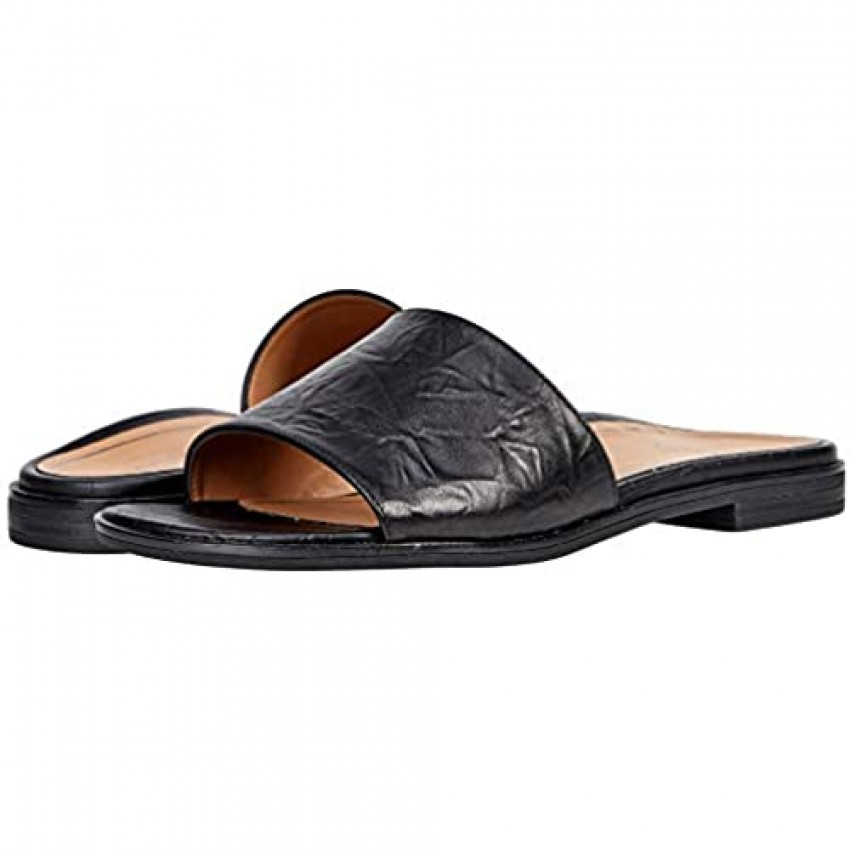 Vionic Women's Citrine Demi Slide Sandal- Supportive Ladies Slip on Sandals That Include Three-Zone Comfort with Orthotic Insole Arch Support Medium Fit Sandals for Women