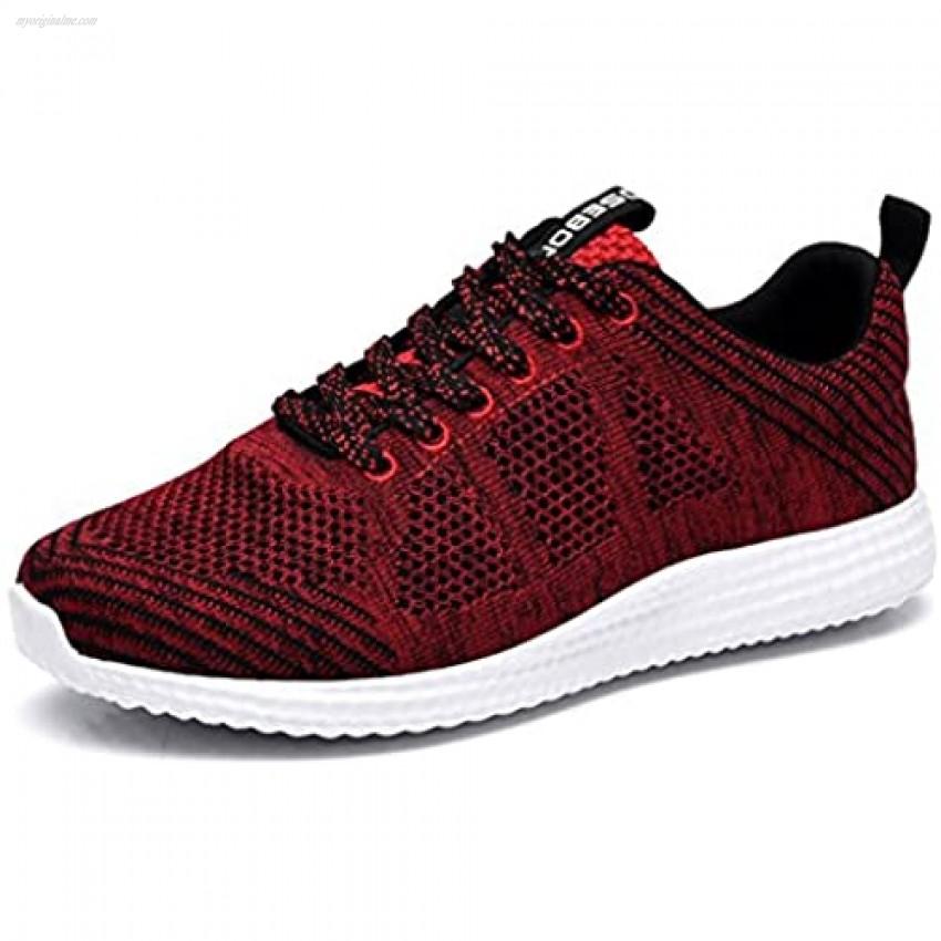 konhill Women's Casual Walking Shoes - Breathable Mesh Work Sneakers