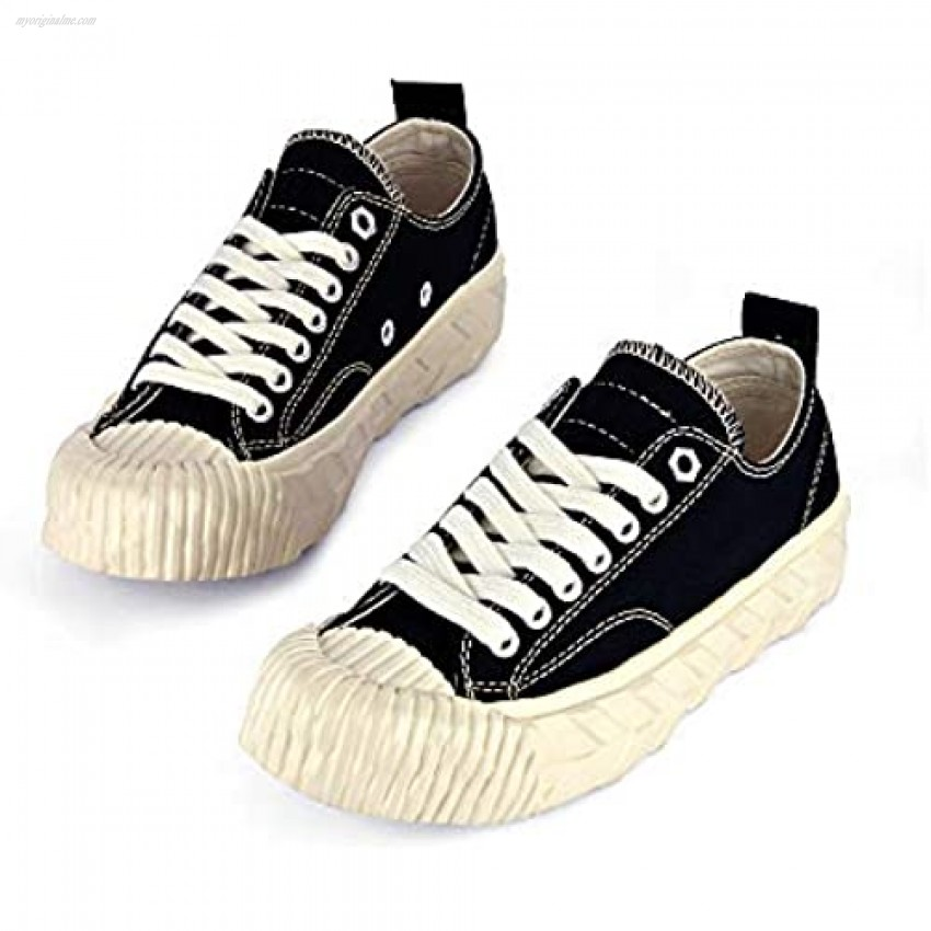 Monte Bianco Original Canvas Low Top Sneakers   Handmade Lace up Shoes for Unisex