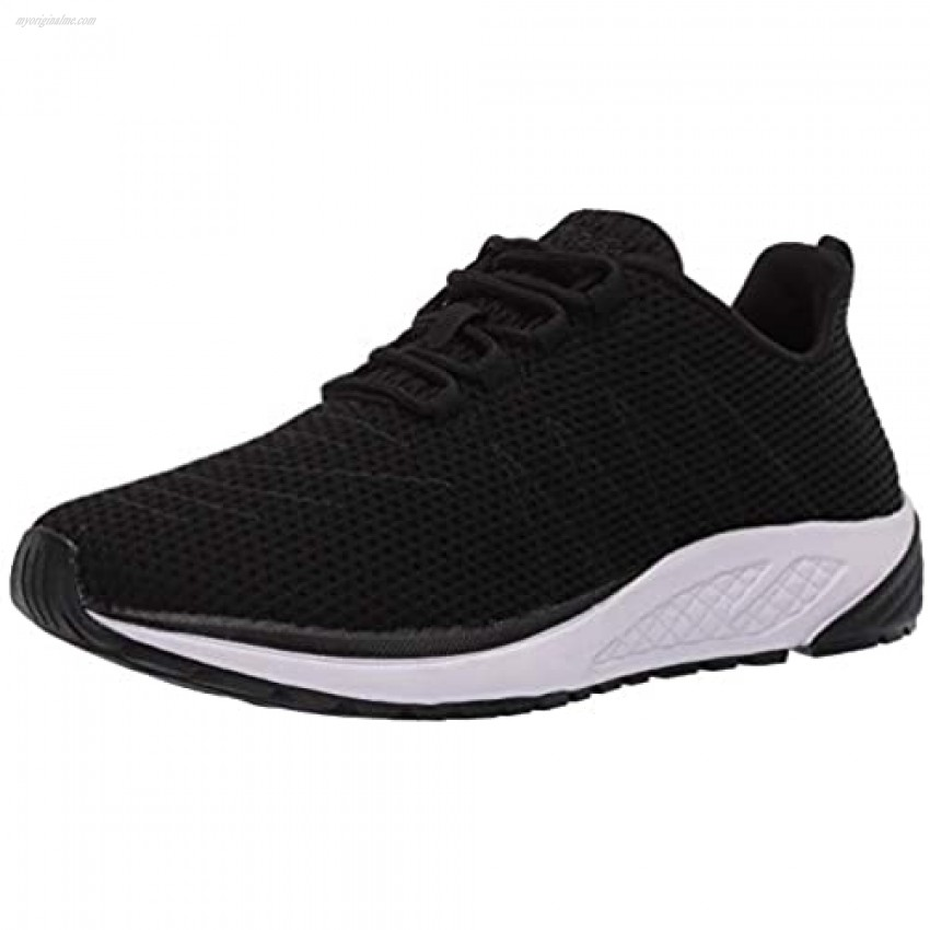 Propét Women's Tour Knit Sneaker Black 8.5 XX-Wide