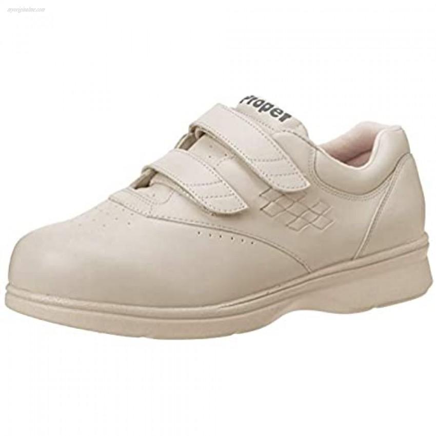 Propet Women's W3915 Vista Walker Sneaker Bone Smooth 6.5 W (US Women's 6.5 D)