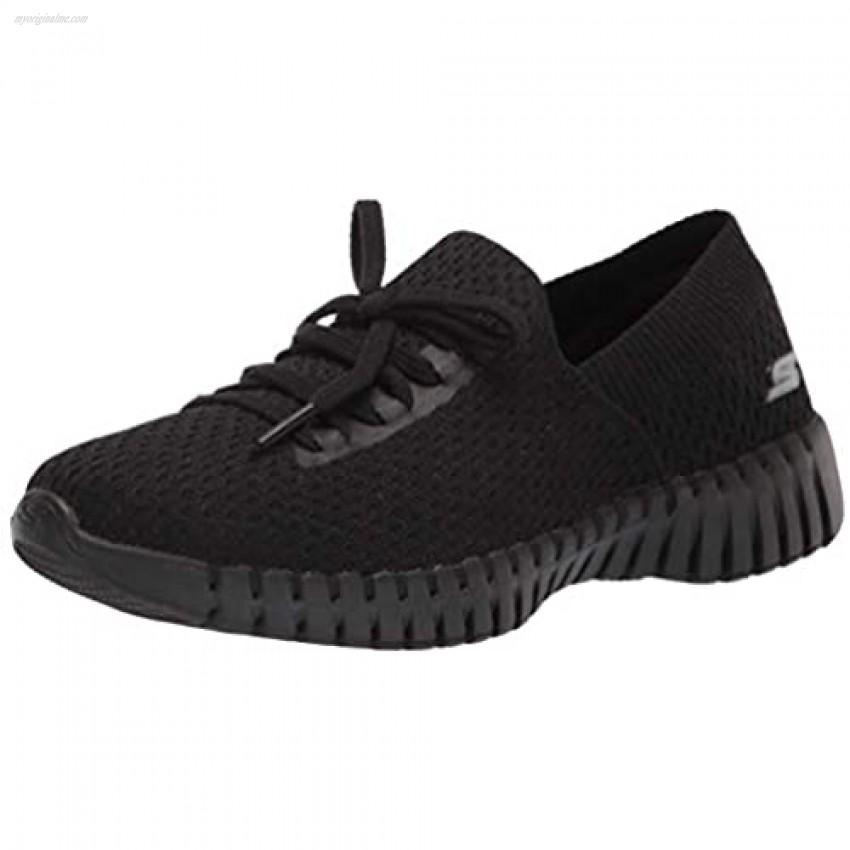 Skechers Women's Go Walk Smart Deco Lace Slip on Sneaker