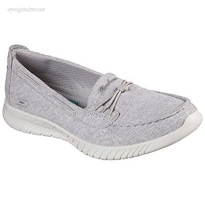 Skechers Women's Wave LIte Playfull Spirit Sneaker Gray 6.5