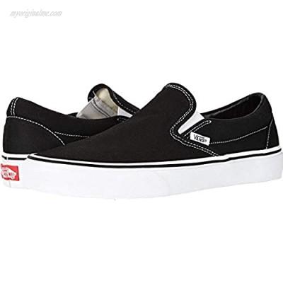 Vans Classic Slip-On (Black/White - 9 W/7.5 M) US