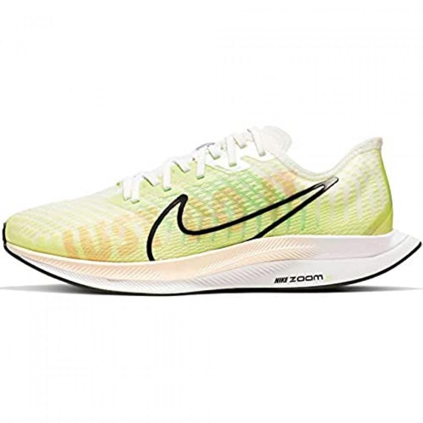 Nike Womens Zoom Pegasus Turbo 2 Rise Running Shoes (6 Luminous Green/White)