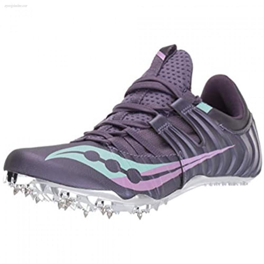 Saucony Women's Showdown 5 Track Shoes Haze 6.5M