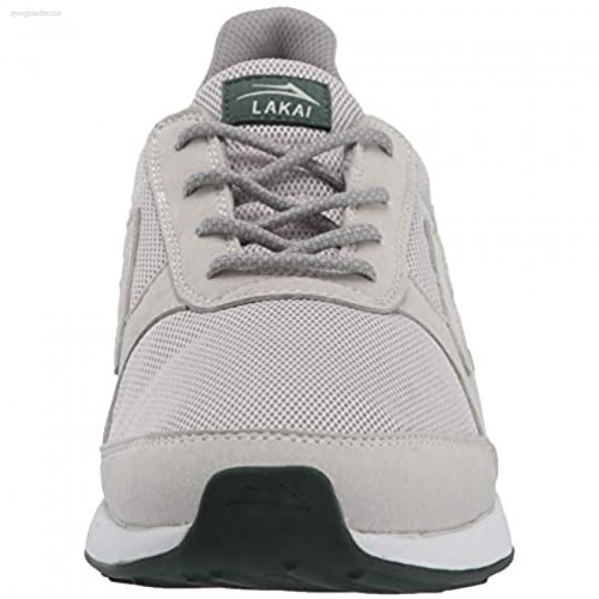 Lakai Footwear Evo Light Grey Meshsize Tennis Shoe Light Grey Mesh