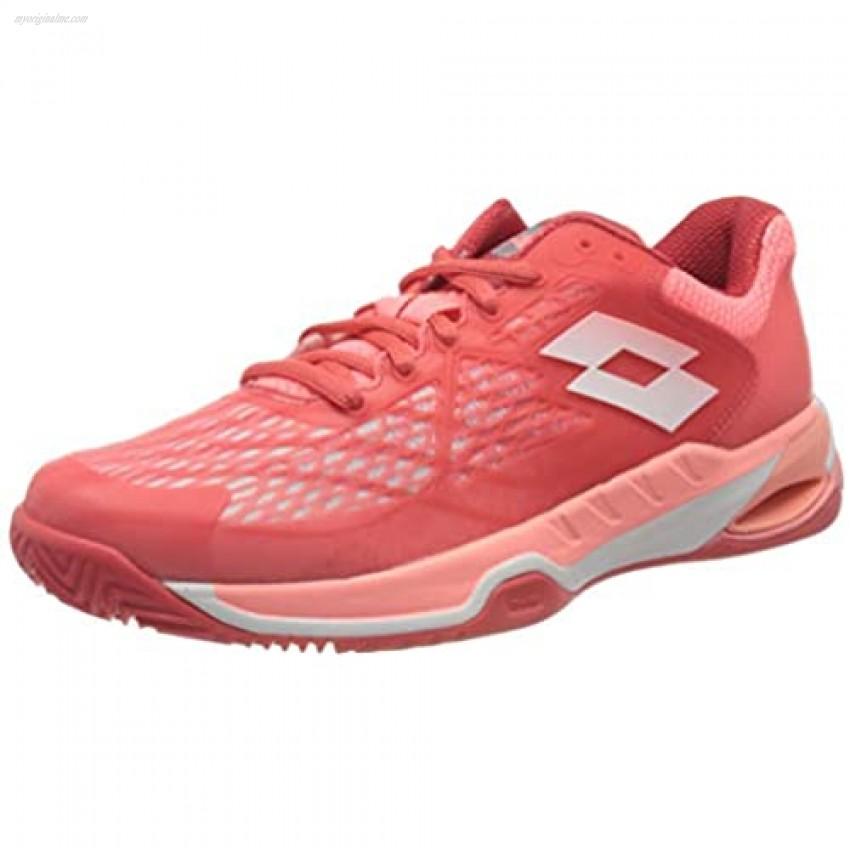 Lotto Women Mirage 100 Clay Women Tennis shoes Clay court shoe Coral - Pink