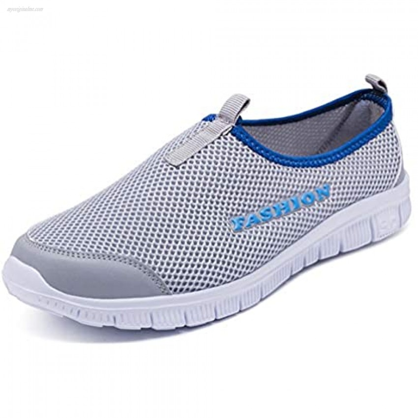 Blidece Walking Shoes for Women Lightweight Slip-on Sneakers Mesh Sock Shoes Breathable Casual Sports Running Shoes