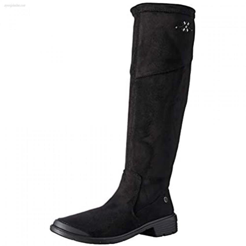 Bzees Women's Boomerang Knee High Boot Black 6 M M US
