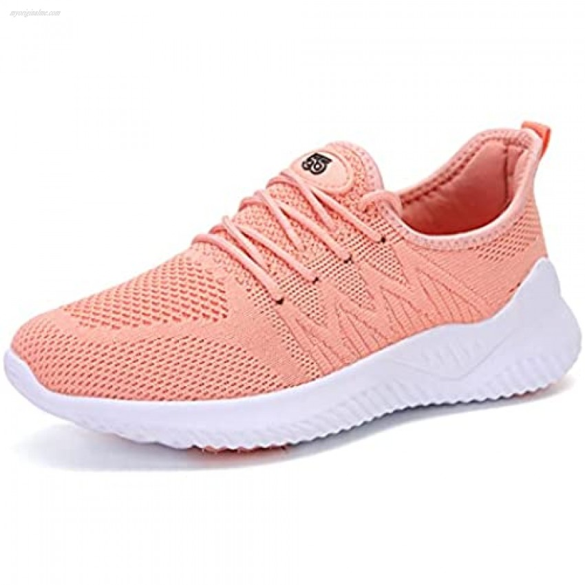 JXXAMZ33 Womens Walking Tennis Shoes - Jogging Slip On Memory Foam Lightweight Casual Breathable Mesh Sneakers for Gym Travel Work