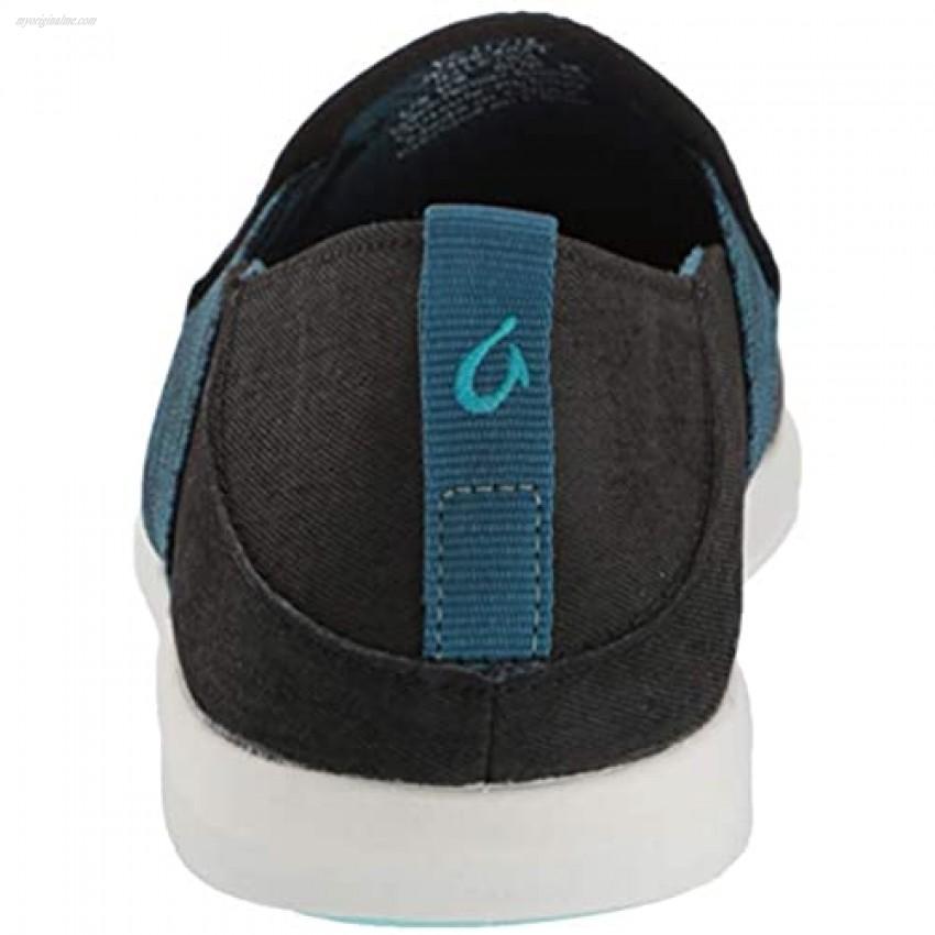 OluKai Haleiwa Women's Sneakers Black/Teal - 6