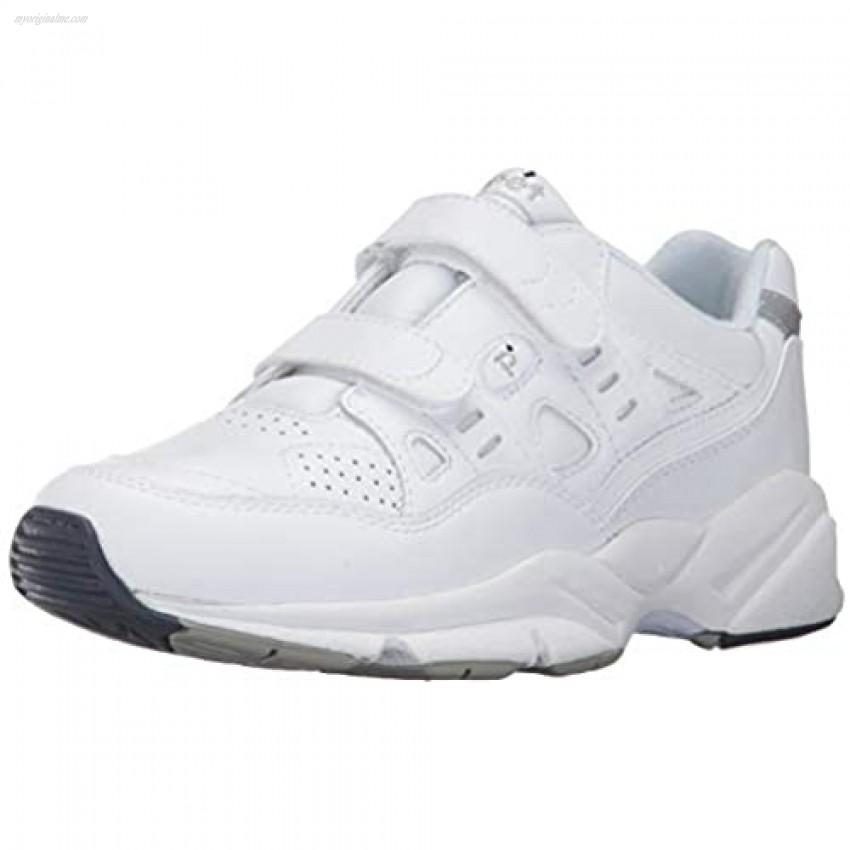 Propet Women's Stability Walker Strap Walking Shoe White 11 4E US