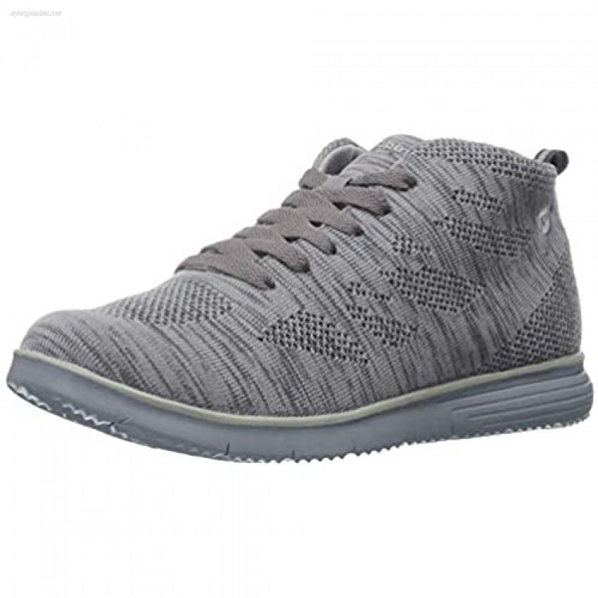 Propet Women's TravelFit Hi Walking Shoe Lt Grey 9 4E US