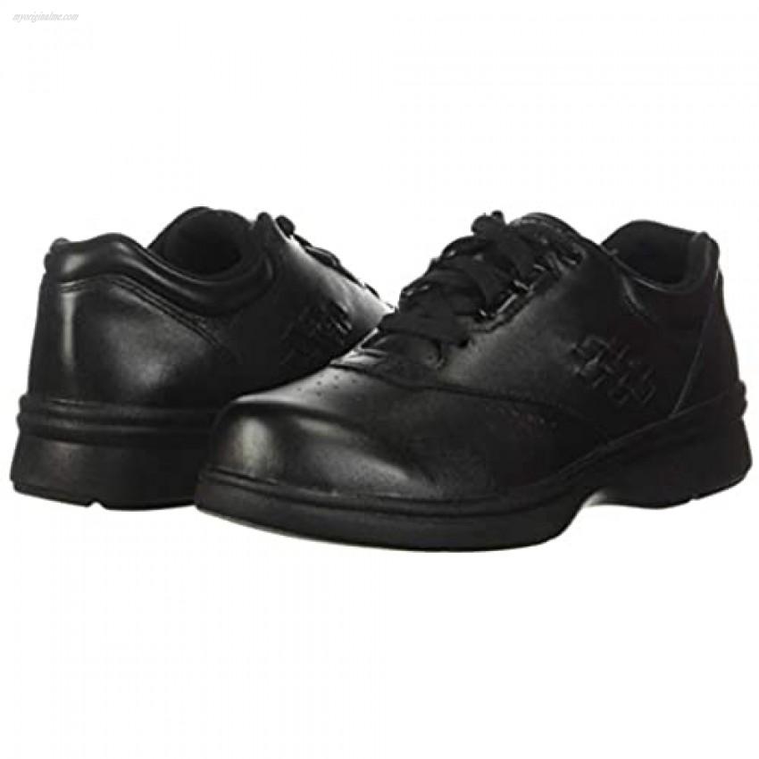 Propet Women's W3910 Vista Walker Comfort Shoe Black Smooth 9 XX (US Women's 9 EEEE)