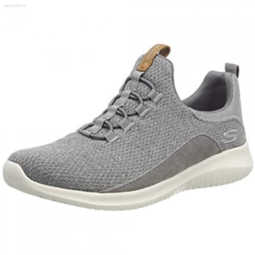 Skechers Ultra Flex New Season Womens Slip On Sneakers Gray 9.5