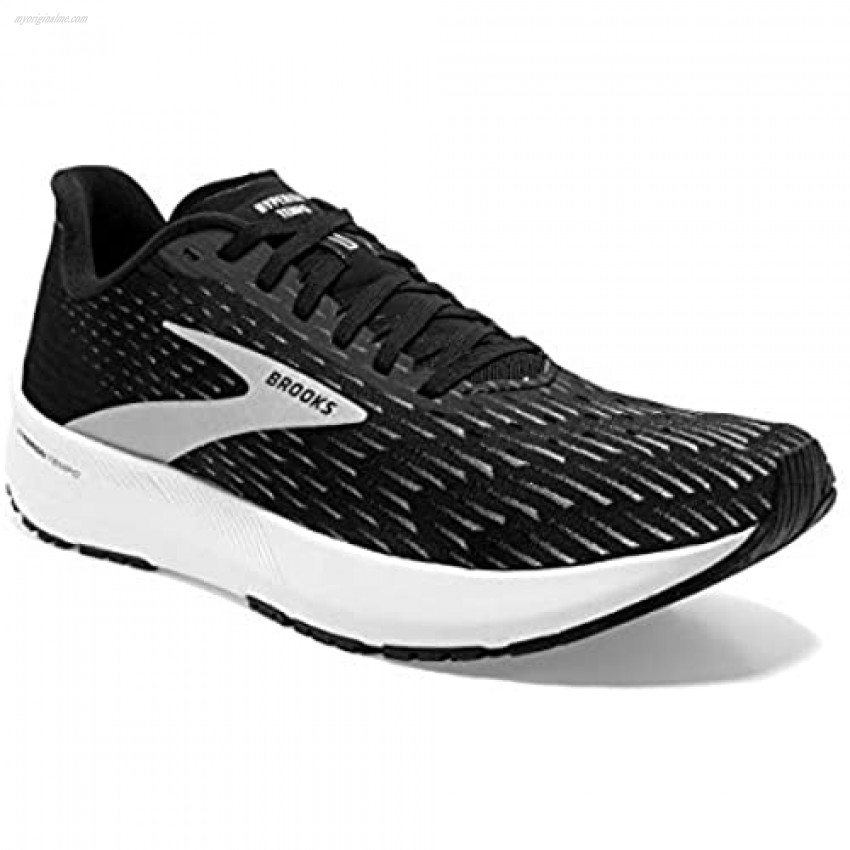 Brooks Hyperion Tempo Black/Silver/White 9.5 B (M)