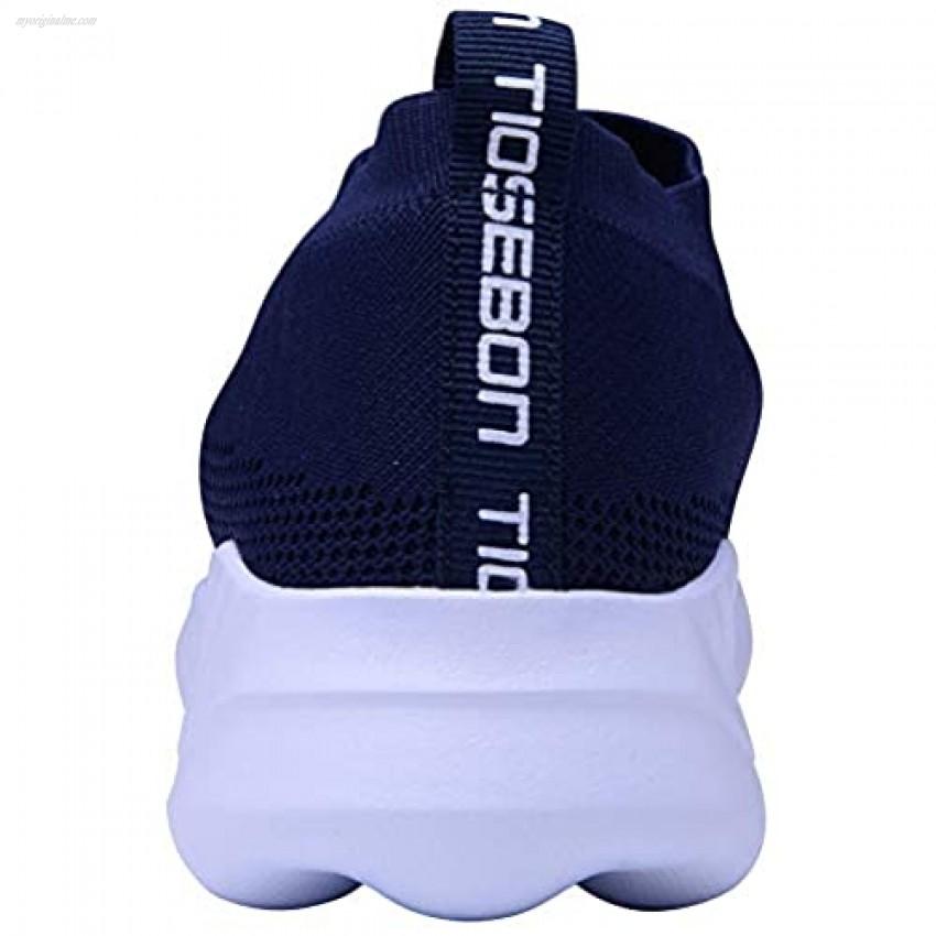 TIOSEBON Women's Athletic Walking Running Shoes Comfortable Lightweight Sneakers