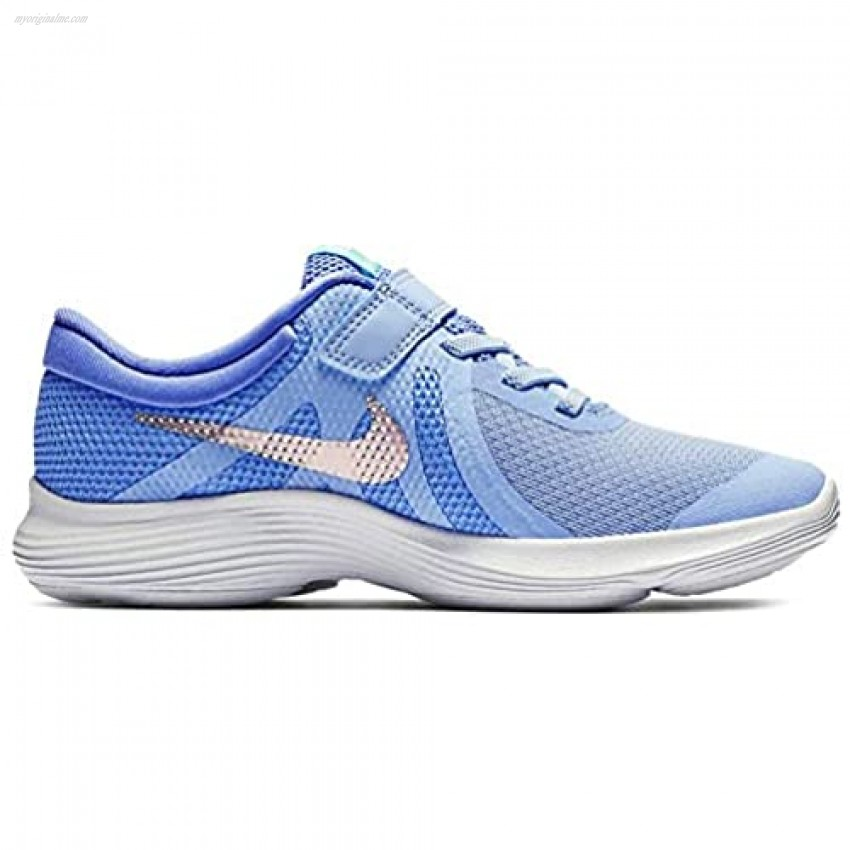 Nike Revolution 4 (ps) Running Casual Shoes Little Kids Bv7443-400 Size