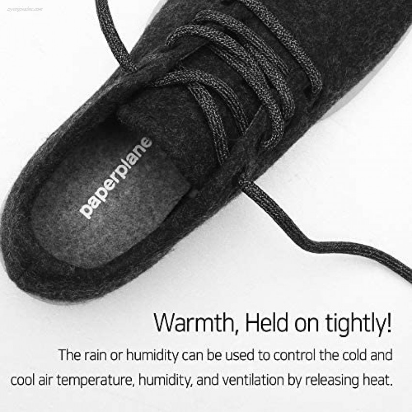 Paperplanes PP1501 Wool Shoes Lightweight Sneakers Comfortable Lightweight Walking Lace Up Sneaker