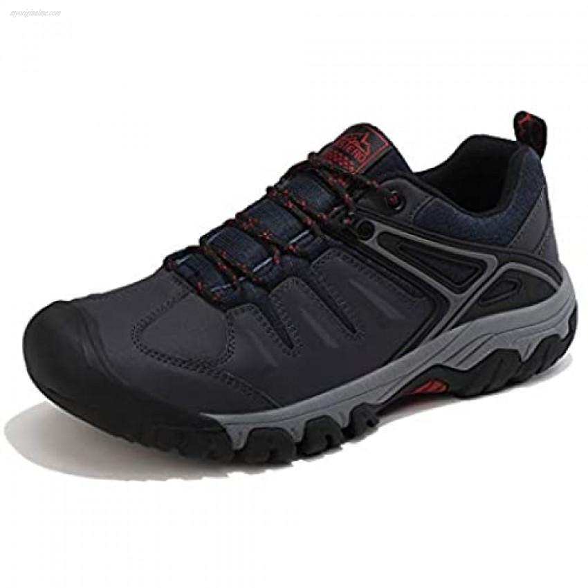 AX BOXING Men's Hiking Shoes Non-Slip Trailing Climbing Trekking Sneakers Walking Shoes for Outdoors