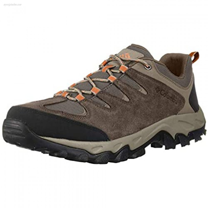 Columbia Men's Buxton Peak Hiking Shoe Breathable High-Traction Grip