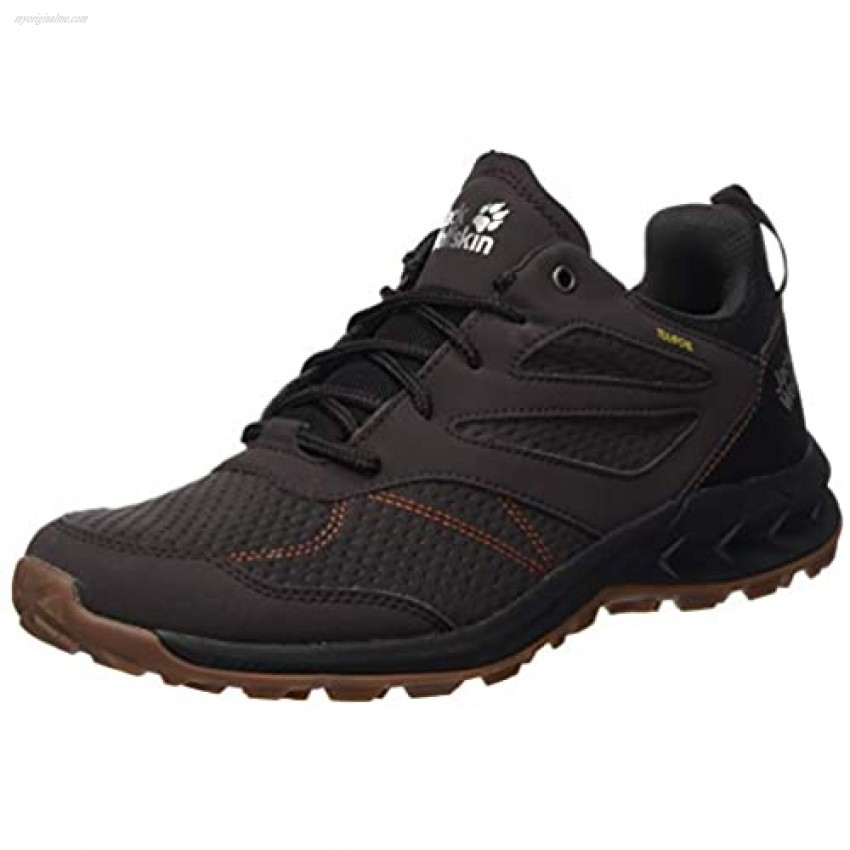 Jack Wolfskin Men's Woodland Texapore Low M Rise Hiking Shoes