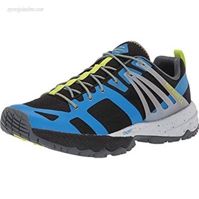 Merrell Men's J48767 MQM Ace Hiking Shoe Directoire Blue/Lime - 10.5 M