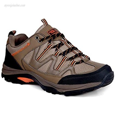 Nord Trail Mt. Evans Hiking Shoes for Men - Lightweight High Traction Grip