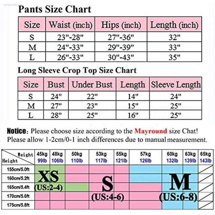 Mayround Ribbed Workout Set for Women 2 Piece Seamless High Waist Leggings Sports Bra Yoga Outfit Sets 2 Piece
