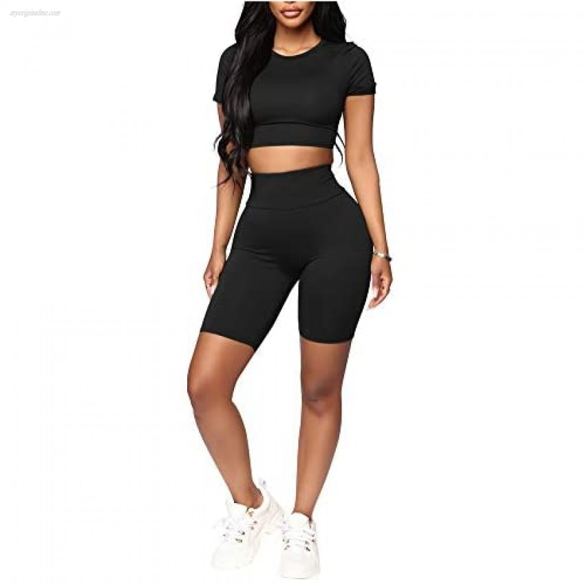 Womens Club Outfits Bodycon Jumpsuit - Sexy Two Piece Outfits Leopard Snakeskin Print Crop Top Shorts Set
