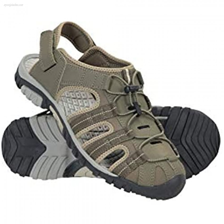 Mountain Warehouse Trek Mens Shandal - Durable Summer Shoes Sandals