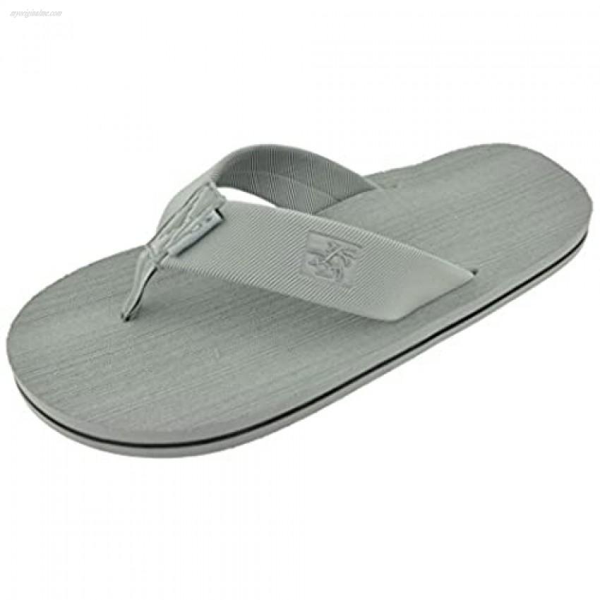 Panama Jack Men's Sandals Classic Casual Beach Time Sport Flip Flop Sandals Size 8 to 13