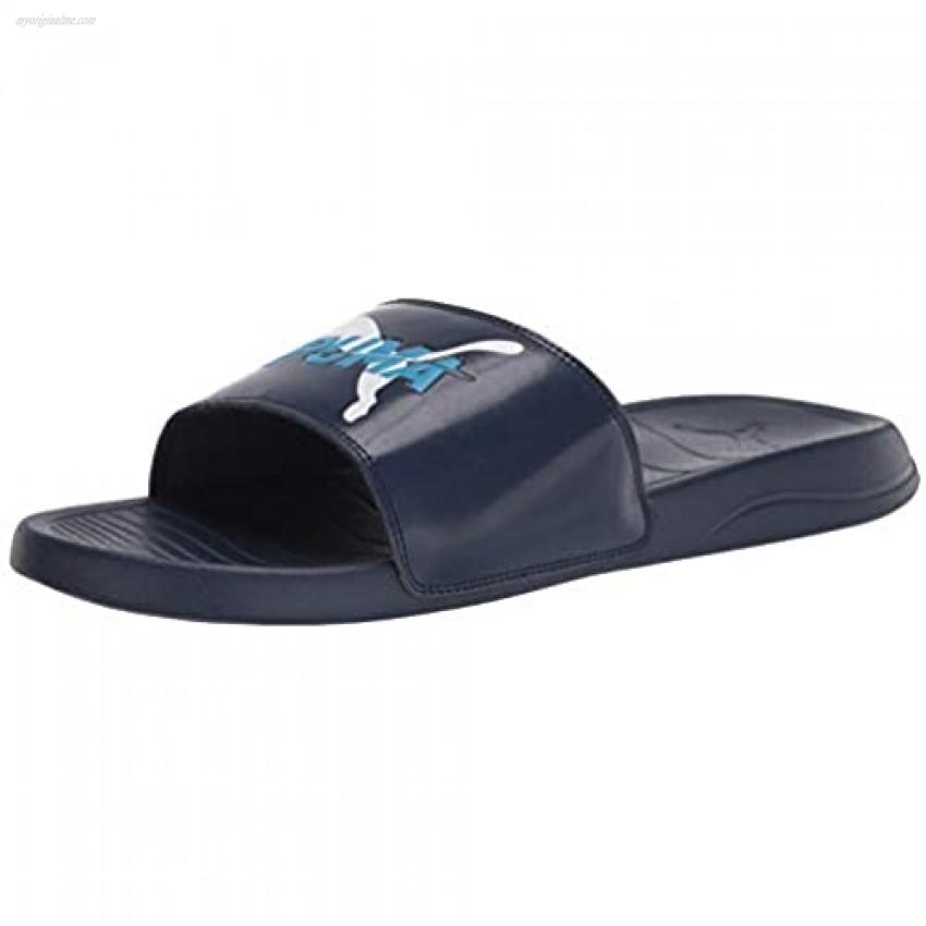 PUMA Unisex-Adult Men's Popcat Slide Sandal