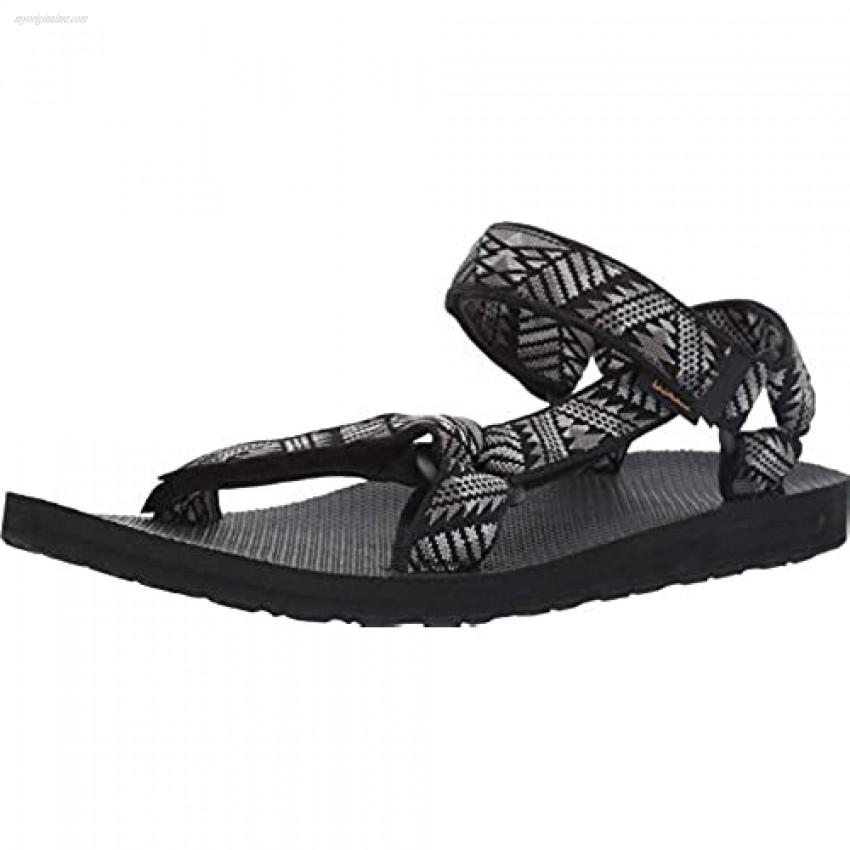 Teva Men's Original Universal Sandal Armida Black/Wh 10 Medium US