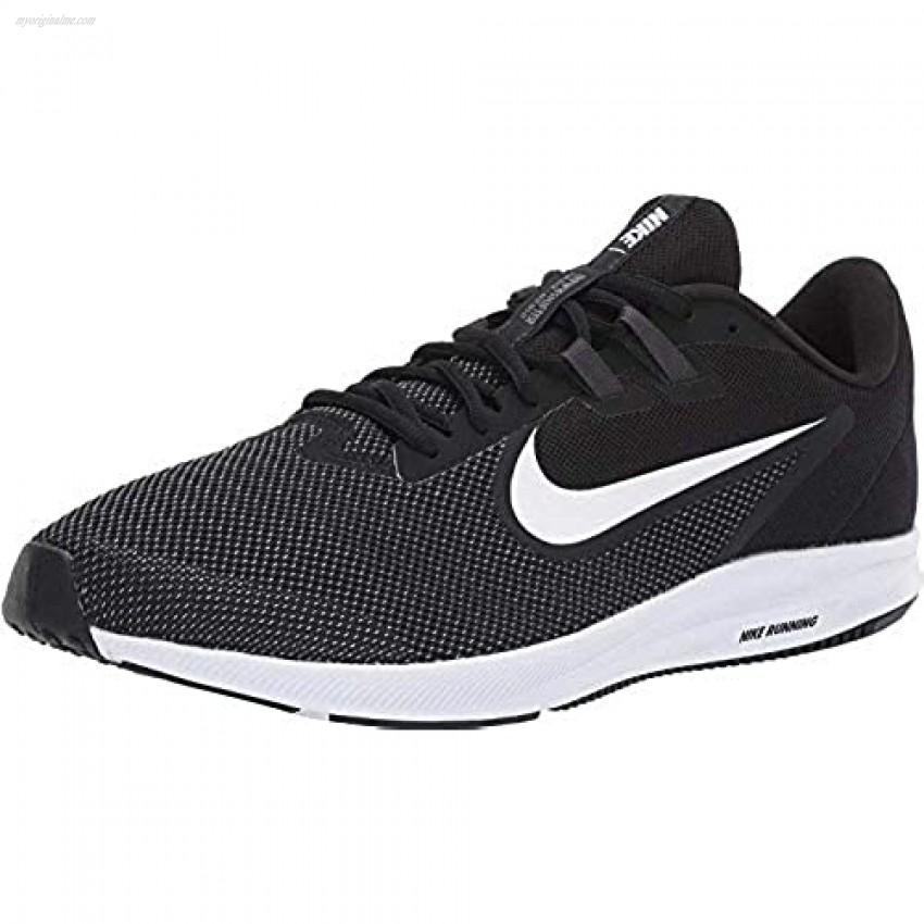 Nike Men's Downshifter 9 Running Shoe black/white - anthracite - cool grey 8.5 Regular US
