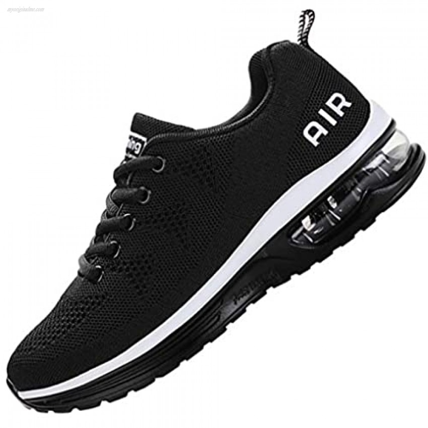 MEHOTO Mens Air Running Sneakers Men Sport Fitness Gym Jogging Walking Lightweight Shoes Size 7-12.5