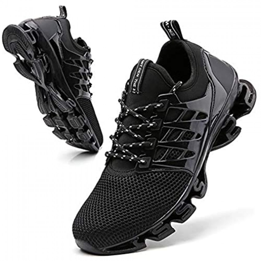 TSIODFO Sport Running Shoes for Mens Mesh Breathable Trail Runners Fashion Sneakers