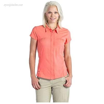 ExOfficio Women's Air Space Short Sleeve Shirt