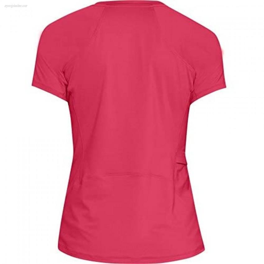 Under Armour Outerwear Women's UA Sunblock SS Hollywood (681)/Overcast Gray Medium